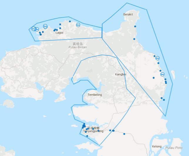 南洋三国记---新加坡, 民丹岛