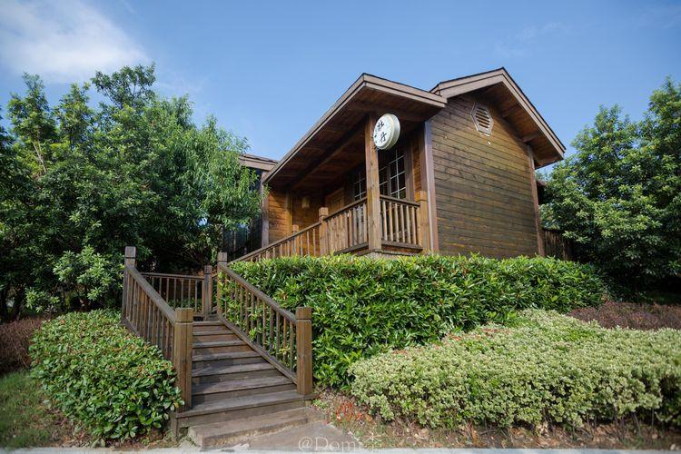 度假区里的小木屋