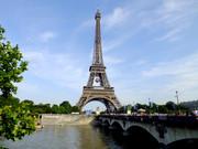 周征观景657:欧洲风光26——法国巴黎凡尔赛宫和铁塔图片