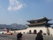 韩国民俗博物馆SM免税店汉江铁桥夜景~图片