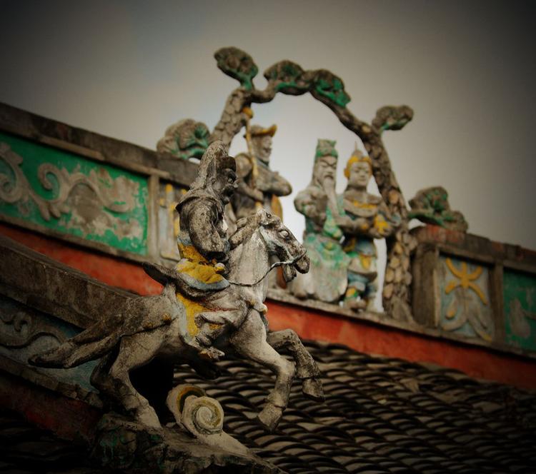 赏石雕,品田鱼,密探华侨之乡