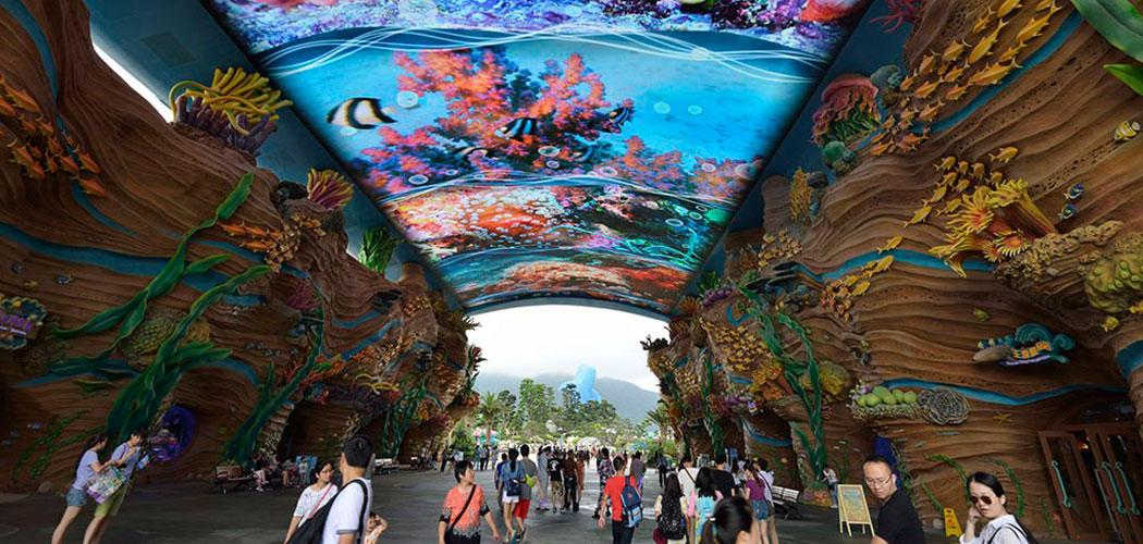 珠海海洋王国+广州长隆野生动物园双飞4日自由行