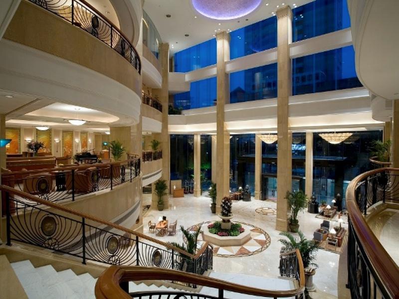 迪拜欧式酒店大堂