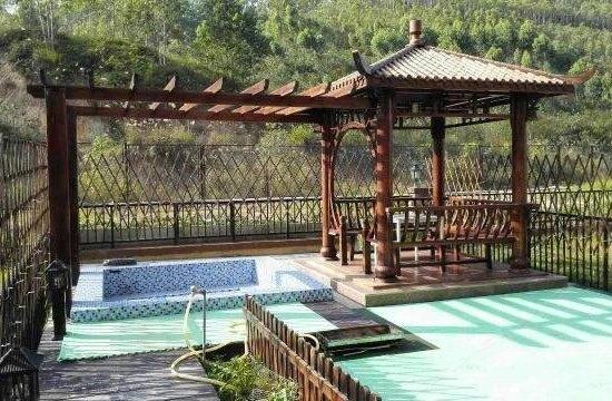 龙门富力温泉养生谷欧式别墅图片
