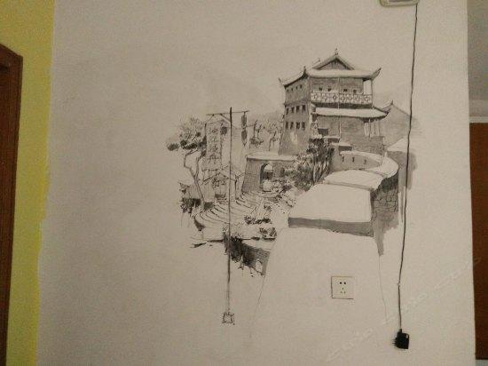 凤凰素描步骤图片