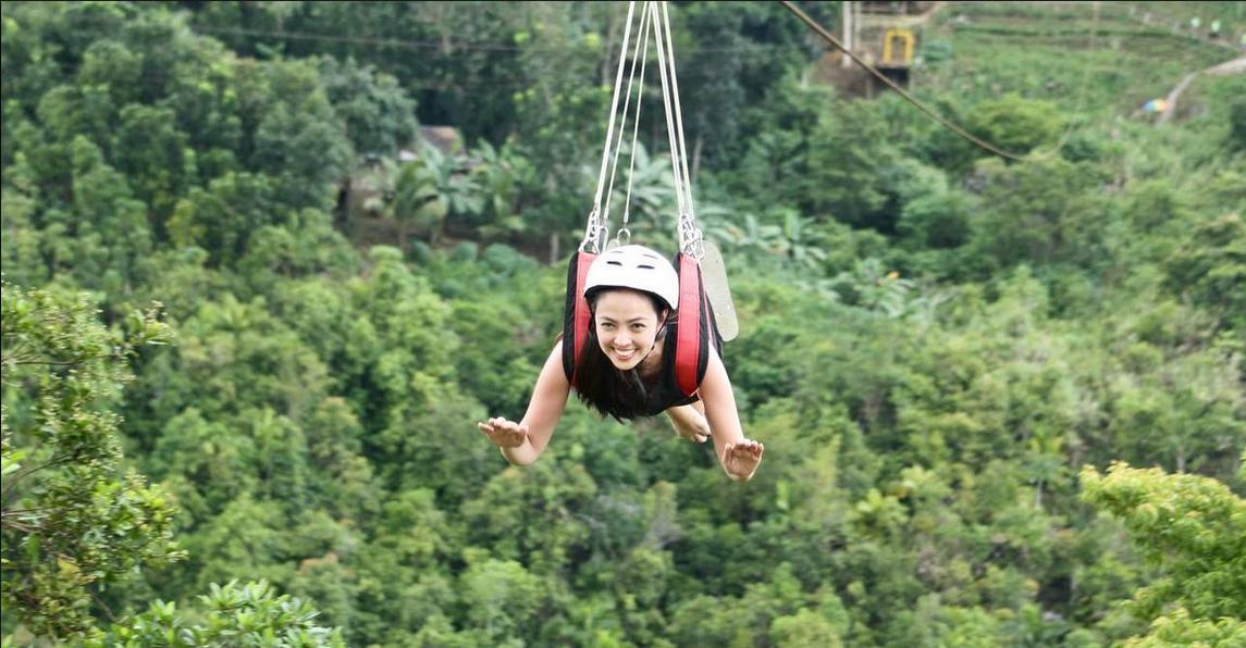 长滩岛 高空缆车+丛林飞越