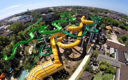 巴厘岛库塔waterbom水上乐园