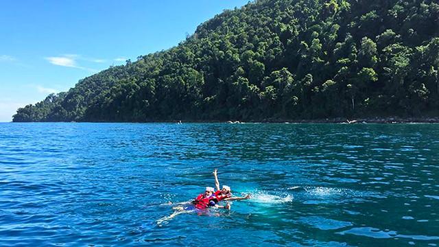 沙巴亚庇2次马努干岛浮潜   畅游加雅岛 (含浮潜装备