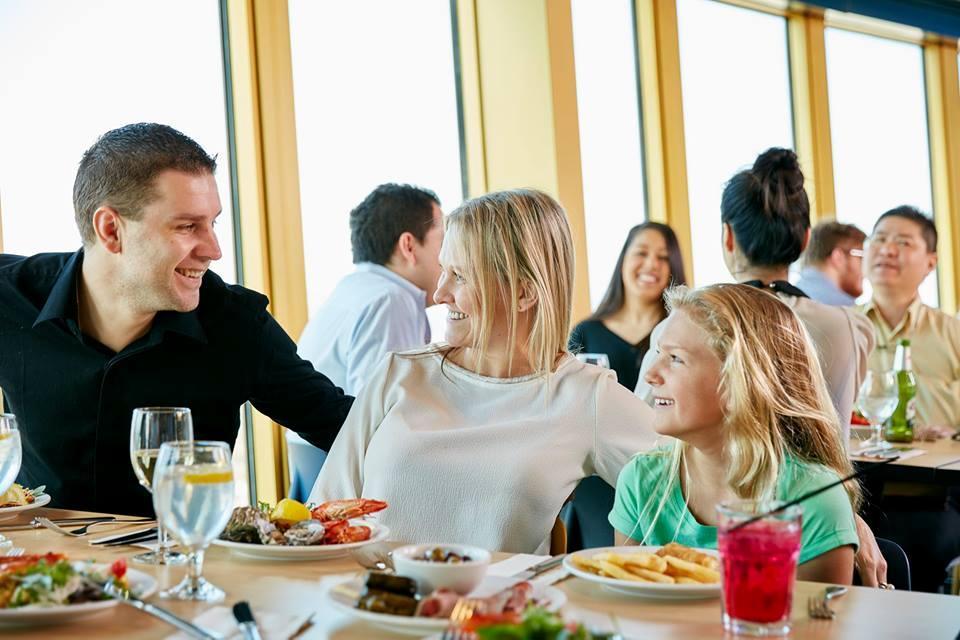 美食美景 悉尼塔旋轉餐廳海鮮自助餐(午餐/晚餐+電子票免打印)