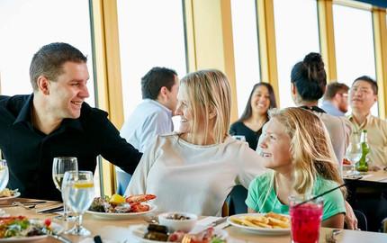 【美食美景】 澳大利亚悉尼塔旋转餐厅自助午/晚餐
