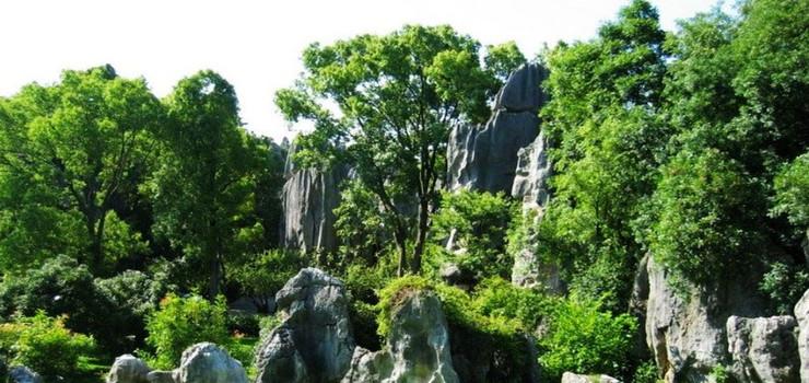 毛家峪长寿度假村—元古奇石林图片