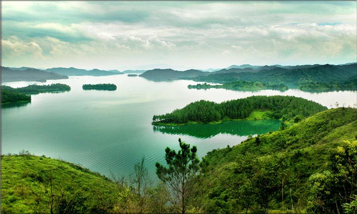 【万绿湖风景区】河源万绿湖风景区门票价格