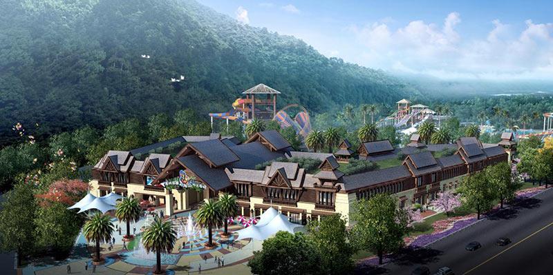 苏州乐园森林小镇图片