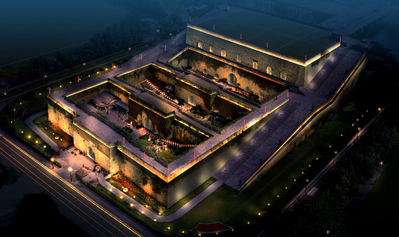 中华门瓮城景区