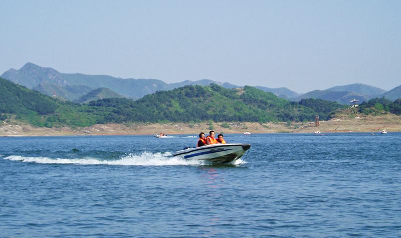 金海湖风景区旅游