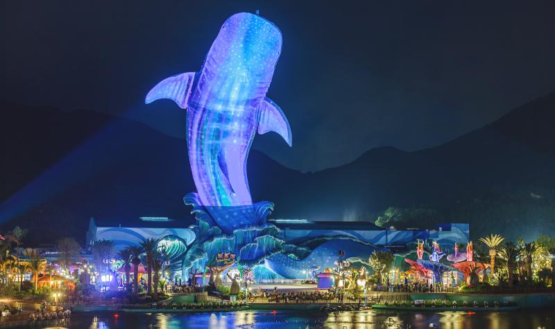 珠海长隆旅游度假区地处与澳门近在咫尺的横琴新区,是一个集主题公园图片