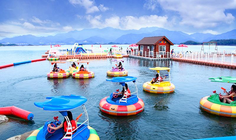 住千岛湖珍珠半岛酒店 双早 享酒店免费室外泳池 健身
