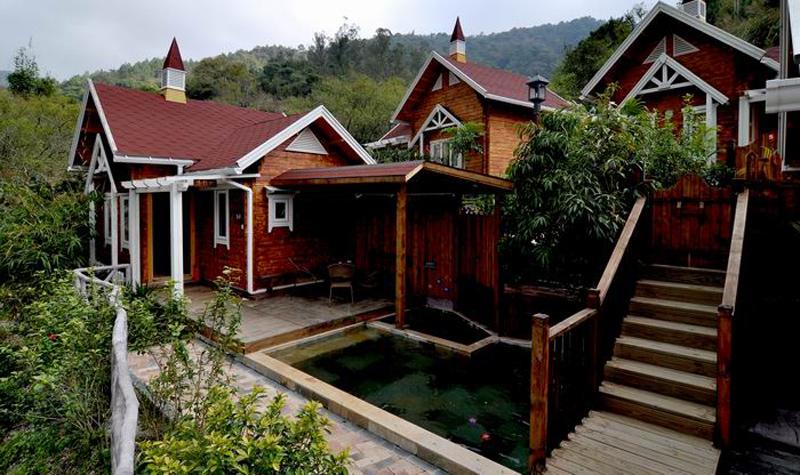 木屋别墅 私家温泉