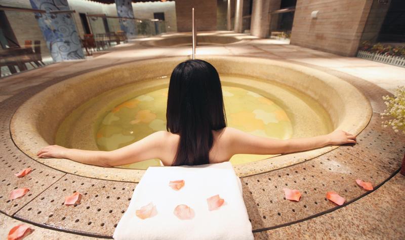 青岛海泉湾度假区海洋温泉