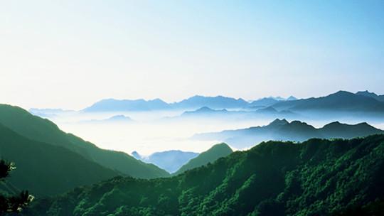 湖北英山大别山主峰(南武当)风景区