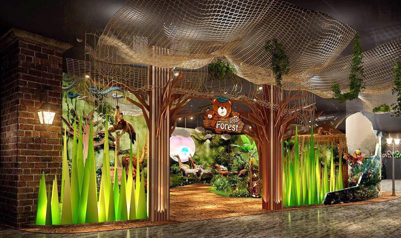 游玩景点mag环球魔幻世界 泰迪熊森林,集合各色造型的各种动物,在