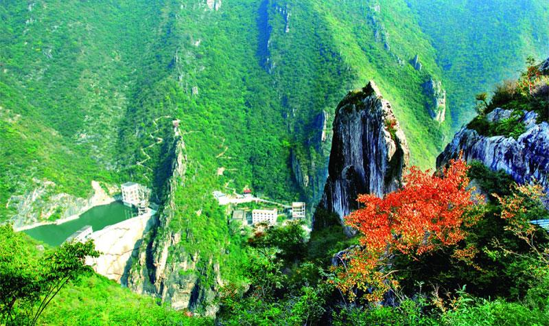 汉中石门栈道风景区