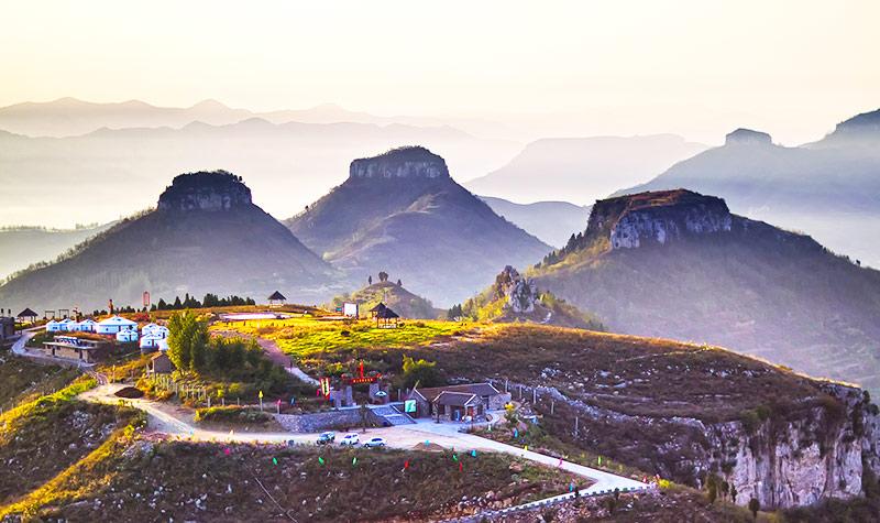 山东蒙阴岱崮地貌旅游景区