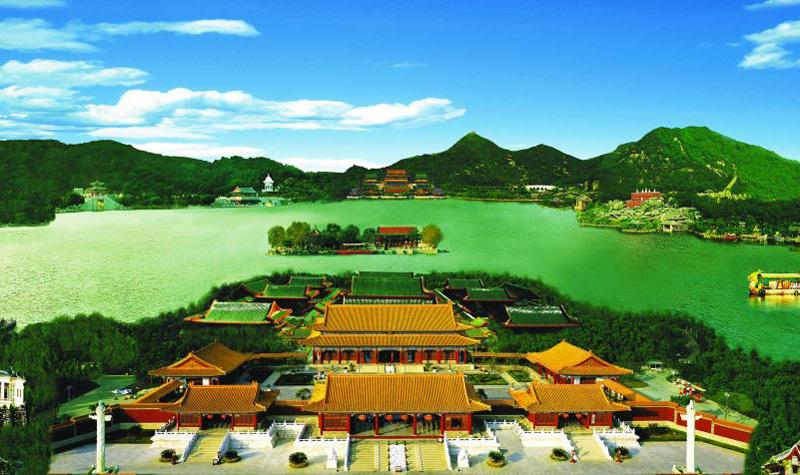 珠海海洋王国、圆明新园二天豪华游