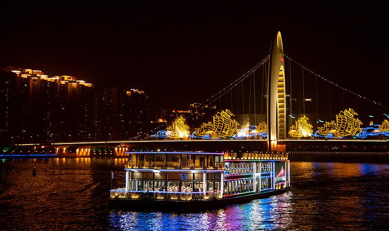 珠江夜游(大沙头码头)