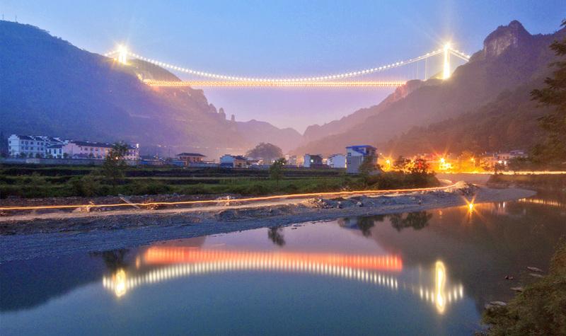 矮寨奇观旅游区-矮寨大桥