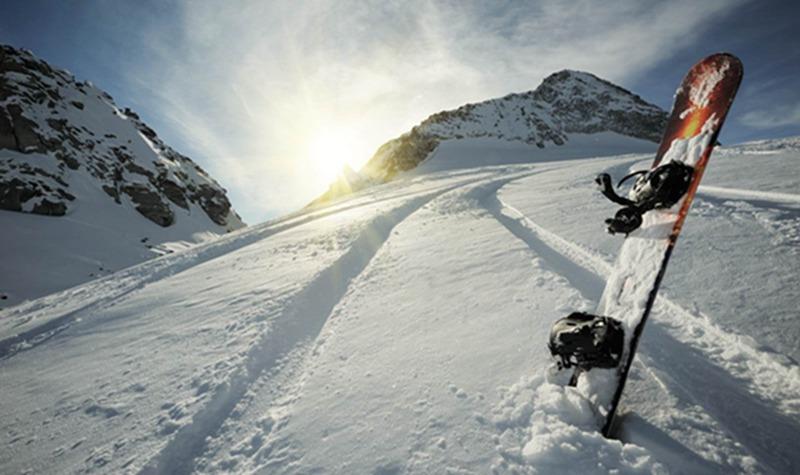 英山桃花冲滑雪世界