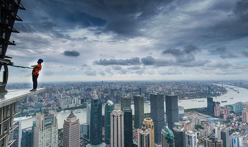 金茂大厦88层观光厅