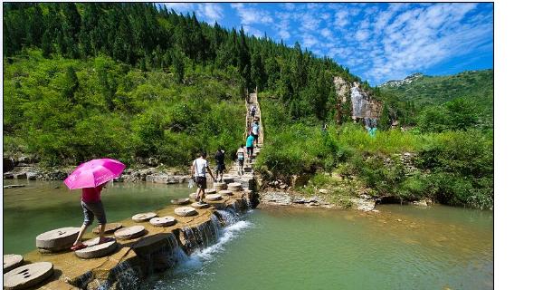 国家森林公园泰和山风景区感受自然景观,森林景观,地貌景观,体验历史