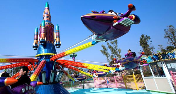 【同程快乐大巴】 杭州湾海皮岛1日游,含168元欢乐世界门票>人数限量