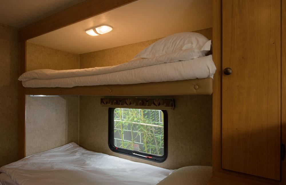 旅游房车内部结构