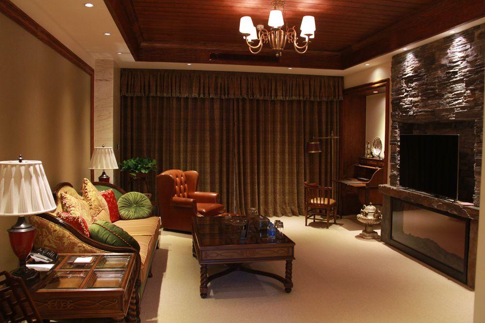酒店客房全部采用欧式装饰风格