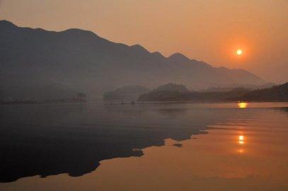 游仙岛湖风景区,住精途酒店(黄石杭州西路店) ,酒店周围交通方便,环境