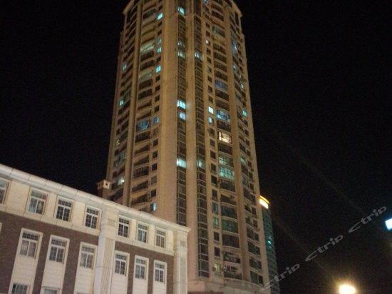 青岛如意海景公寓_青岛火车站东出站口对面如意大厦