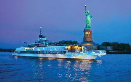 纽约天际线90分钟游船 (TOUR CSC90-CITY SIGHTSEEING NEW YORK® SKYLINE 90-min CRUISE)