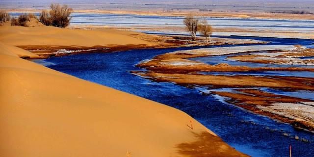 和沙漠的一百天图片_乌兰布和沙漠旅游区门票_乌兰布和沙漠旅游区旅游攻略_巴彦淖尔 ...